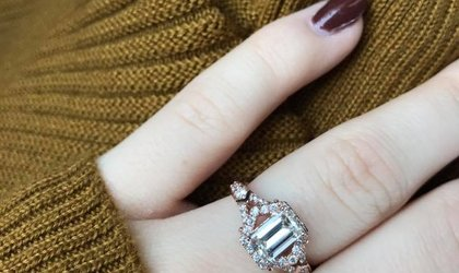 4441262c8 My fiancé and I are West Virginia locals, so when we started hunting for  the perfect engagement ring we knew Calvin Broyles would exceed all of our  ...